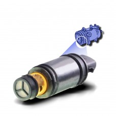 Control Valve A/C  Fiat Denso 5SL12C Electronic Control Valve With Extended Vertical Terminal