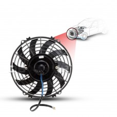 Cooling Fans A/C 9 Cooling Fan S-Blade (90Watts) (Pusher/Reversible) 12V