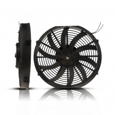 Cooling Fans A/C (10) 14 Cooling Fan S-Blade (120WATTS) (PUSHER) 12V