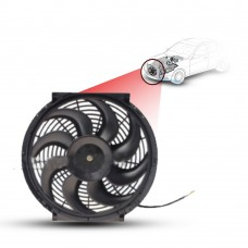 Cooling Fans A/C 14 Cooling Fan S-Blade (160Watts) (Pusher) 12V