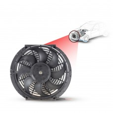 Cooling Fans A/C 12 Cooling Fan S-Blade (90Watts) (Pusher/Reversible) 24V
