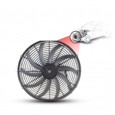 Cooling Fans A/C 16 Cooling Fan S-Blade (180Watts) (Pusher) 24V l